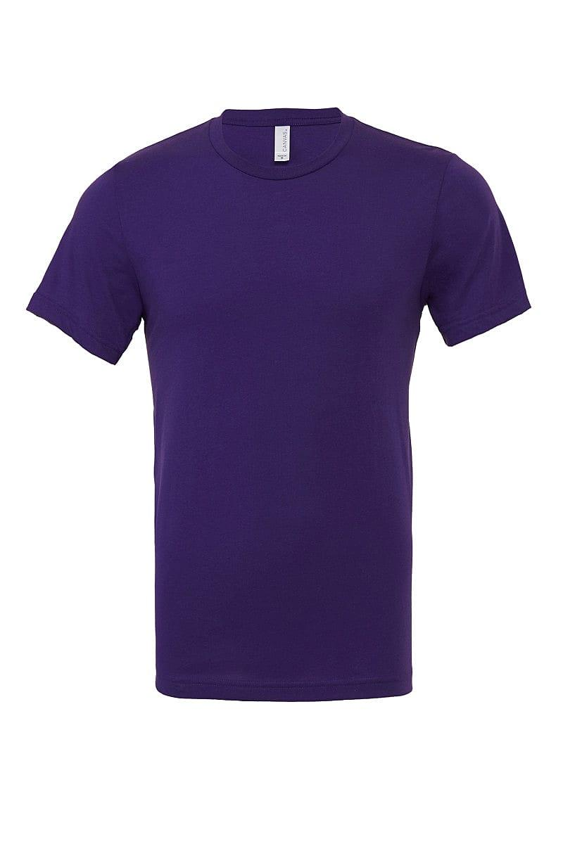 Bella Canvas Perfect T-Shirt in Team Purple (Product Code: CA3001)