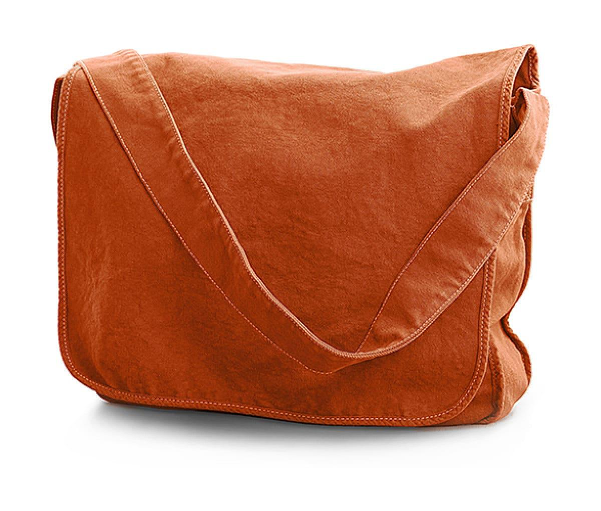 Jassz Bags Canvas Messenger Bag in Autumn Maple (Product Code: CA37309MB)