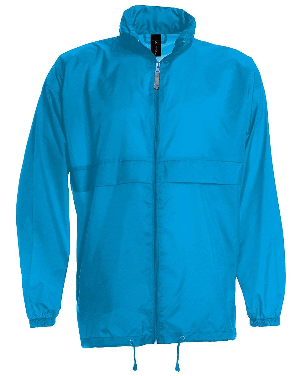 B&C Mens Sirocco Lightweight Jacket in Atoll (Product Code: JU800)