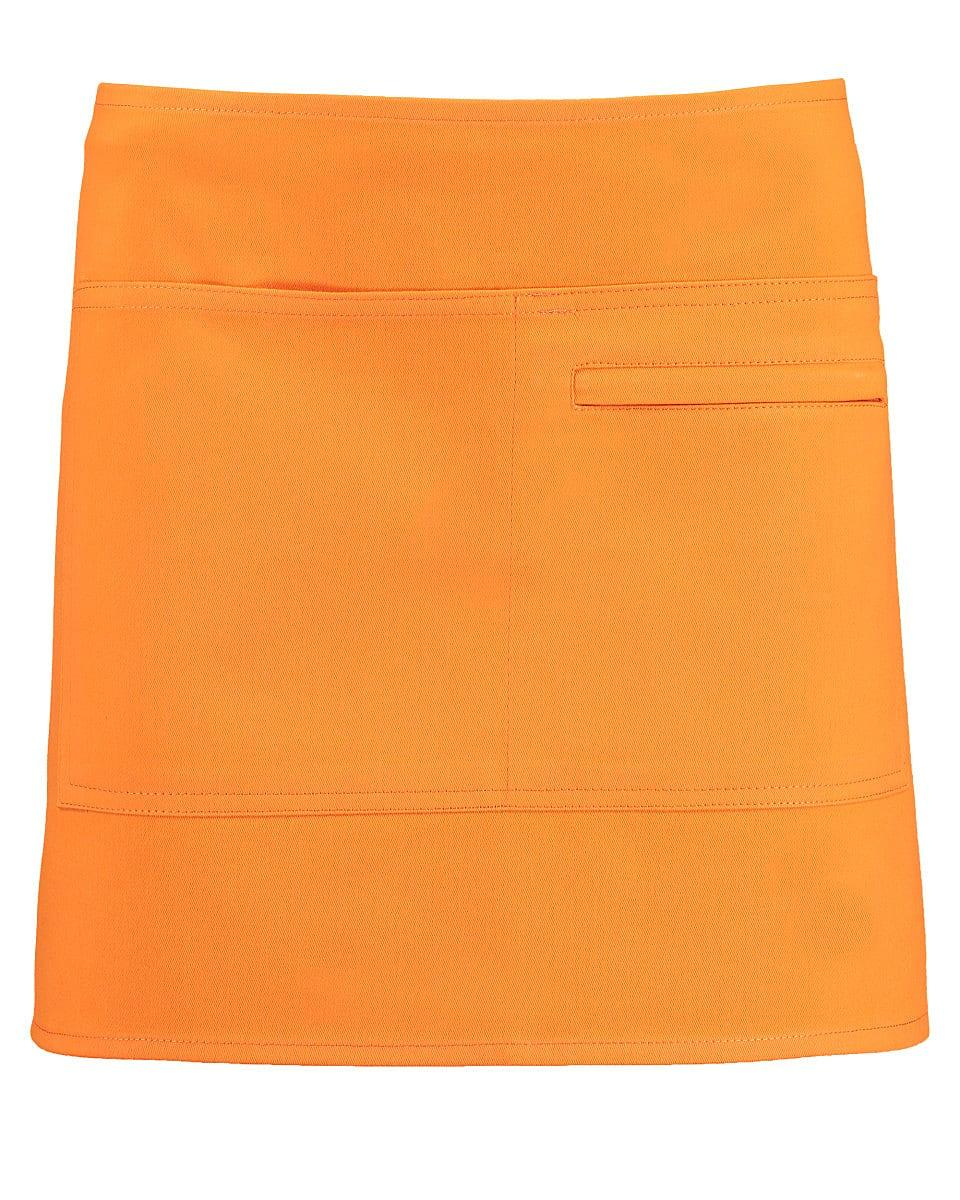 Bargear Unisex Short Bar Apron in Orange (Product Code: KK513)