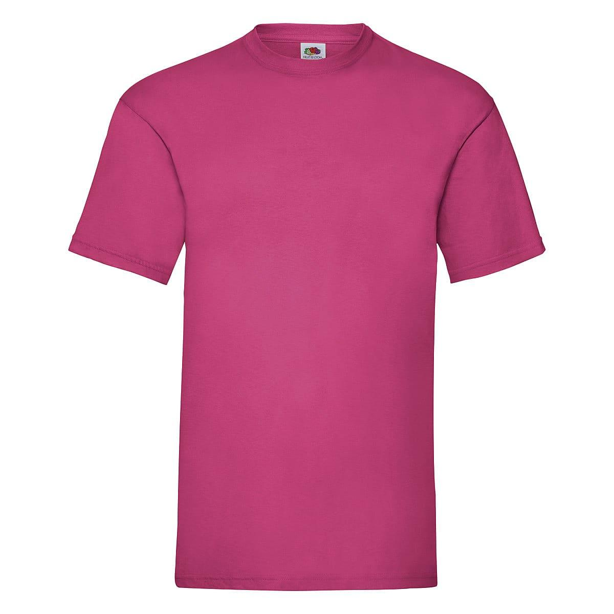 Fruit Of The Loom Valueweight T-Shirt in Fuchsia (Product Code: 61036)
