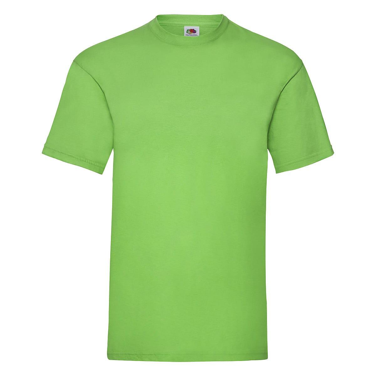 Fruit Of The Loom Valueweight T-Shirt in Lime (Product Code: 61036)