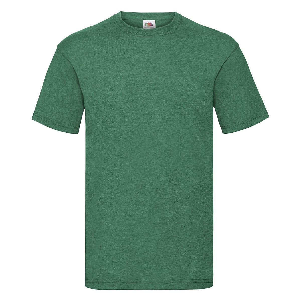 Fruit Of The Loom Valueweight T-Shirt in Retro Heather Green (Product Code: 61036)