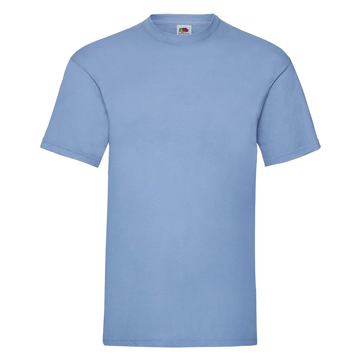 Fruit Of The Loom Valueweight T-Shirt in Sky Blue (Product Code: 61036)