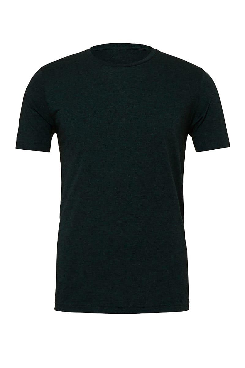 Bella Canvas Mens Tri-blend Short-Sleeve T-Shirt in Emerald Triblend (Product Code: CA3413)
