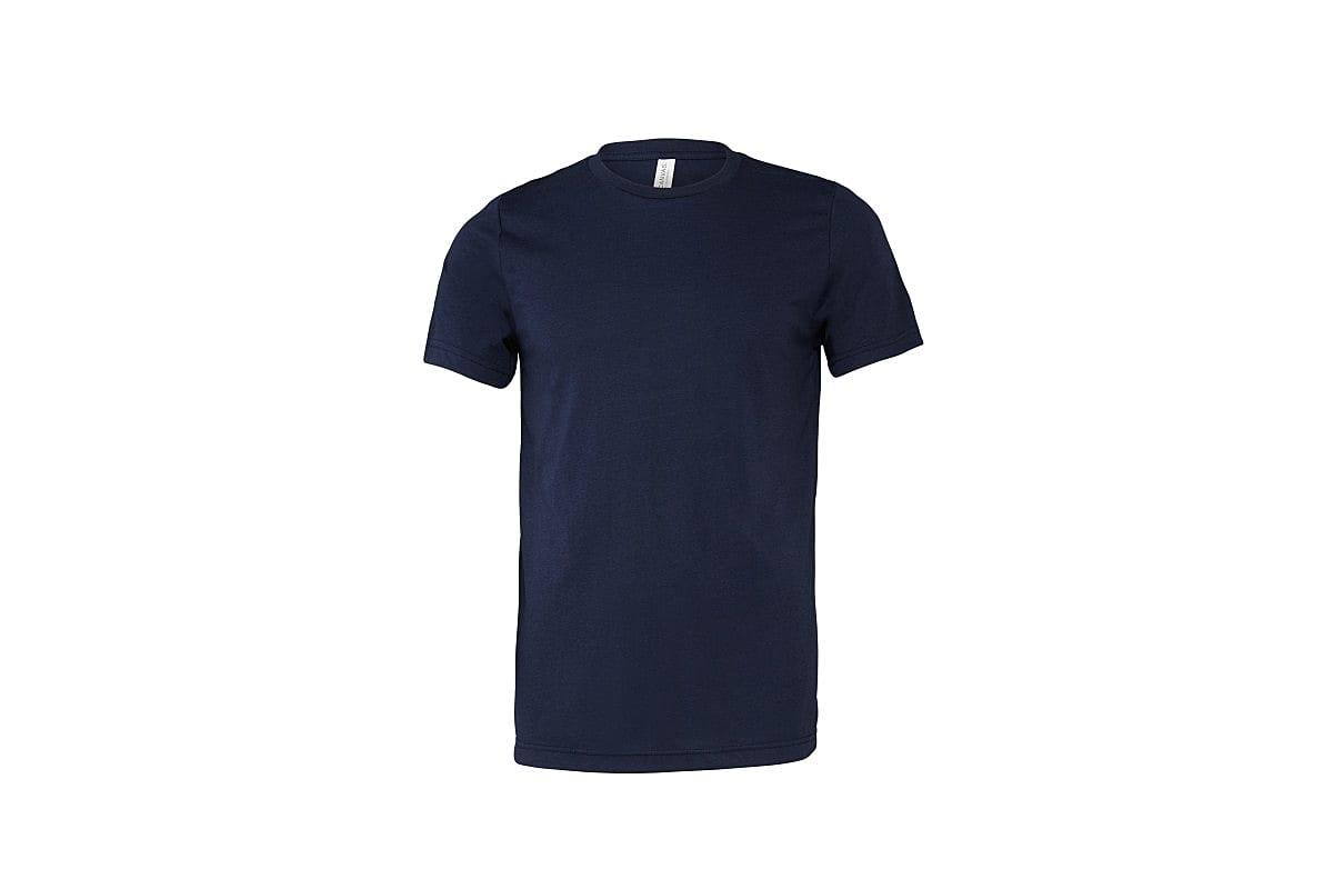 Bella Canvas Mens Tri-blend Short-Sleeve T-Shirt in Solid Navy Tri Blend (Product Code: CA3413)