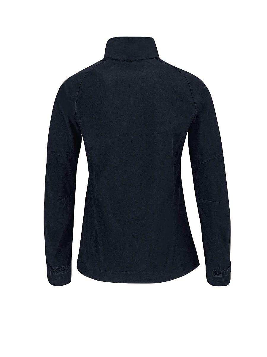 B&C Womens X Lite Softshell Jacket in Navy Blue (Product Code: JW938)
