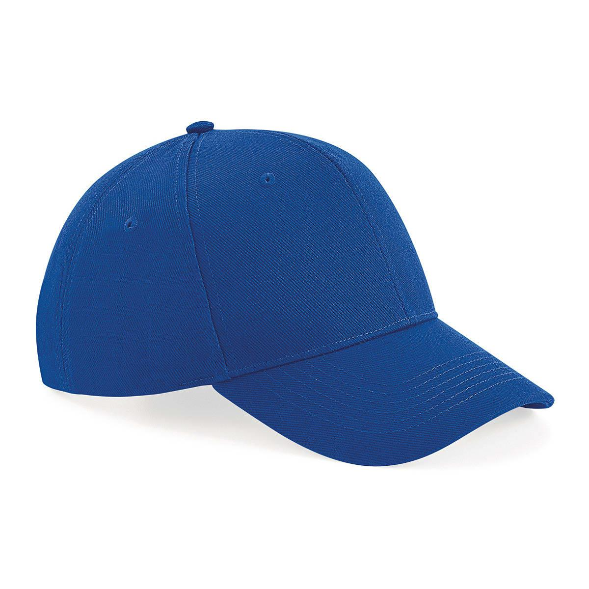 Beechfield Untimate 6 Panel Cap in Bright Royal (Product Code: B18)