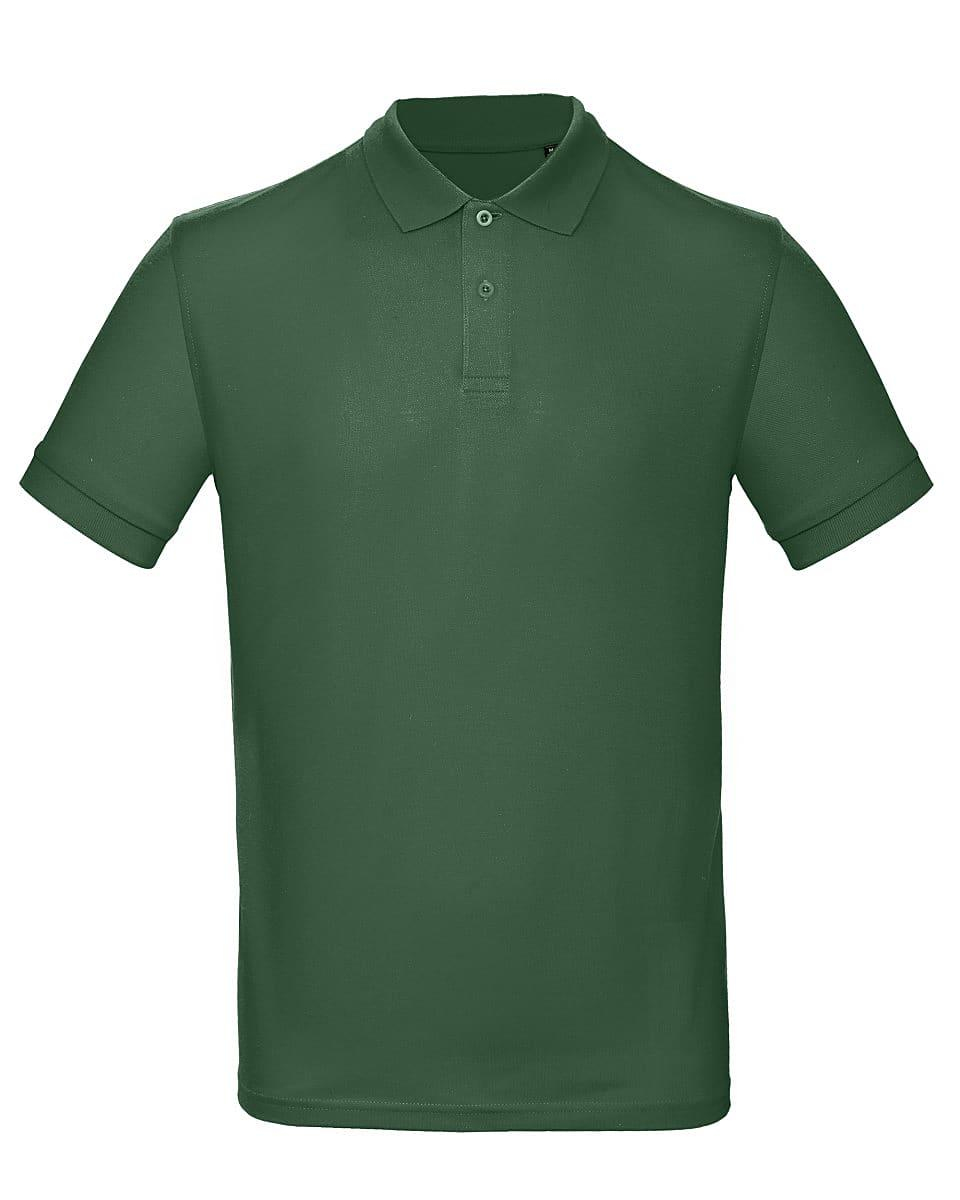 B&C Mens Inspire Polo Shirt in Bottle Green (Product Code: PM430)