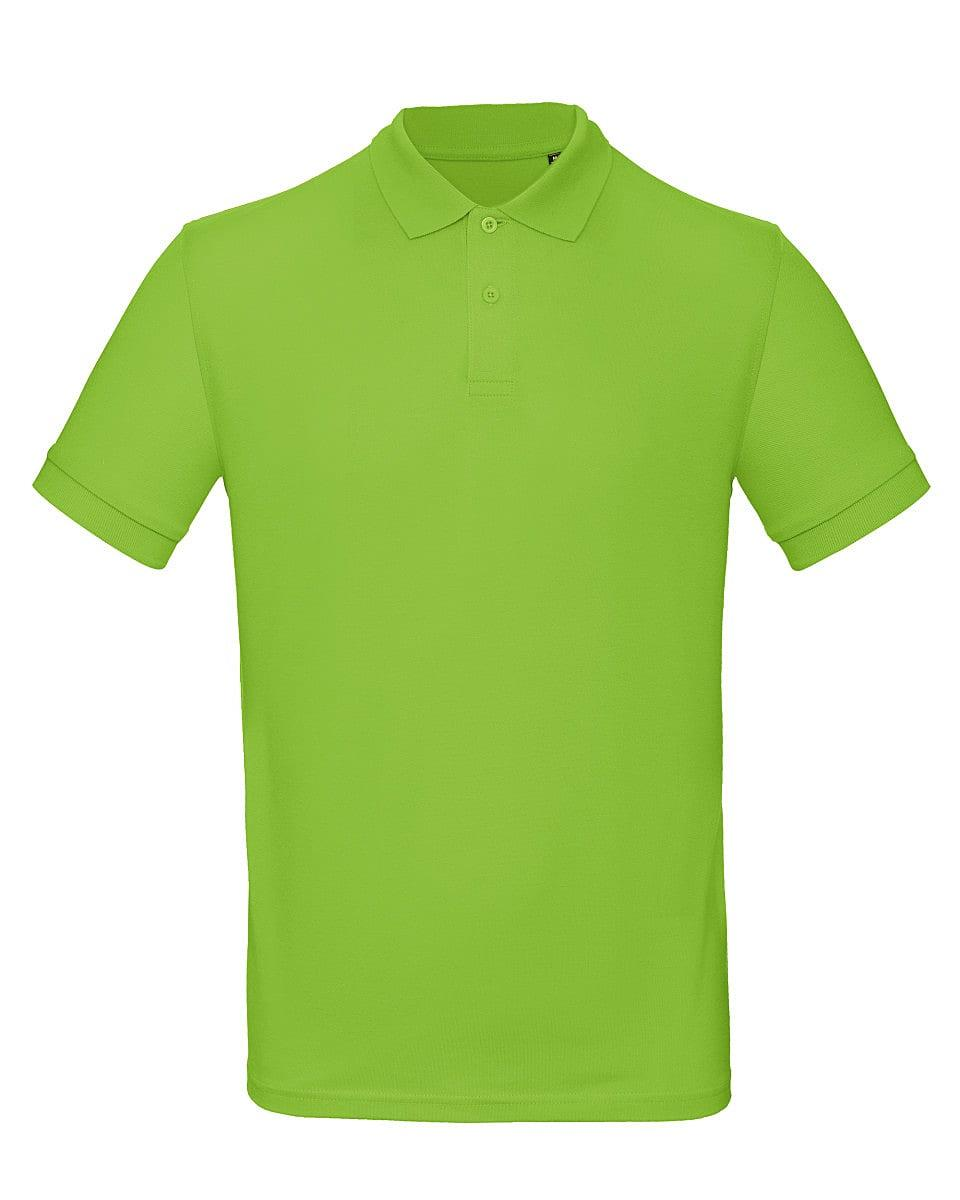 B&C Mens Inspire Polo Shirt in Orchid Green (Product Code: PM430)