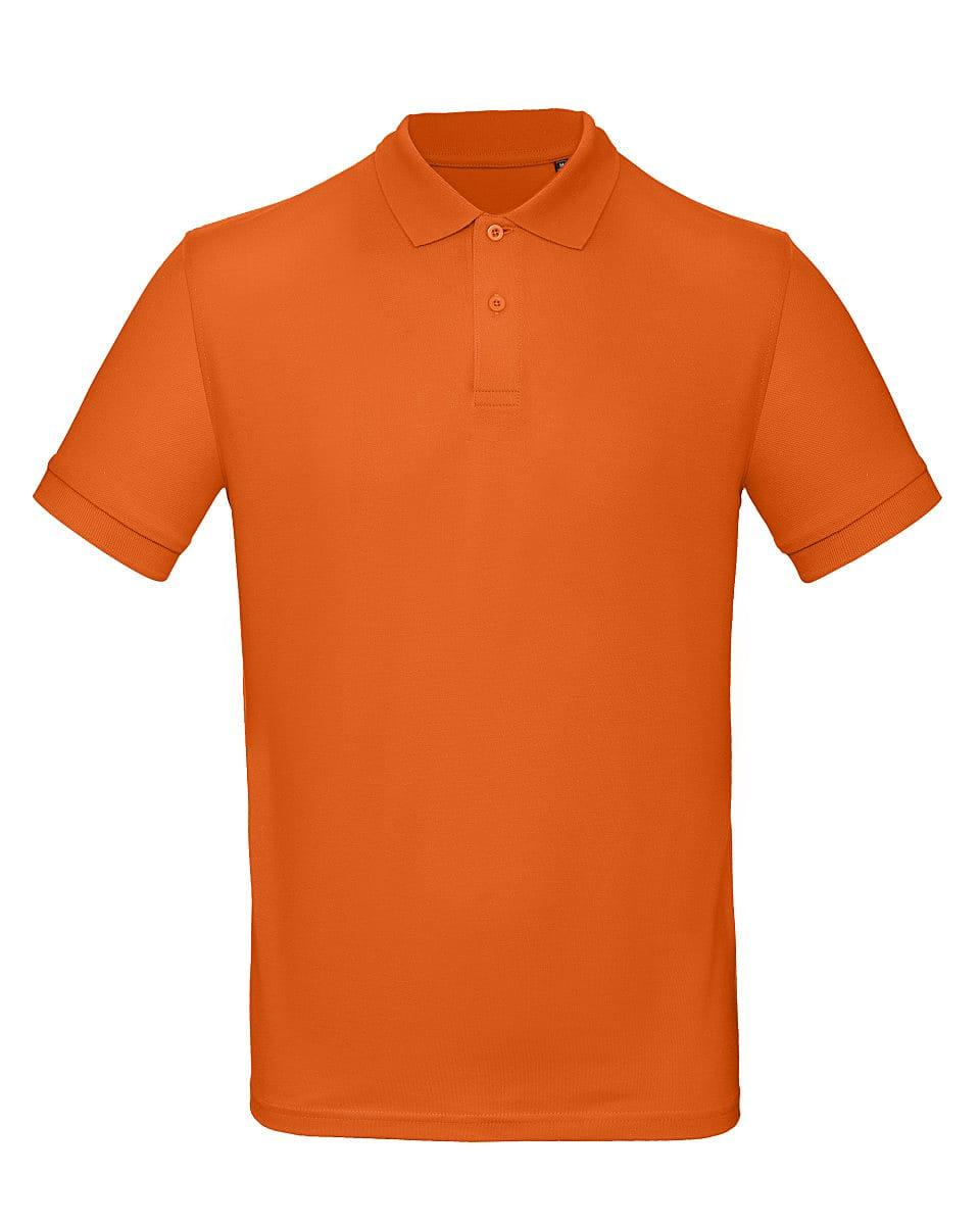 B&C Mens Inspire Polo Shirt in Urban Orange (Product Code: PM430)