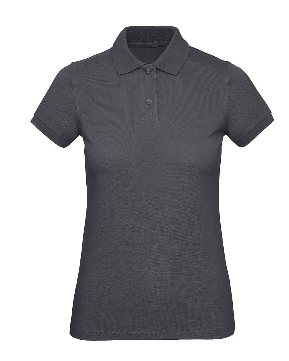 B&C Womens Inspire Polo Shirt in Dark Grey (Product Code: PW440)