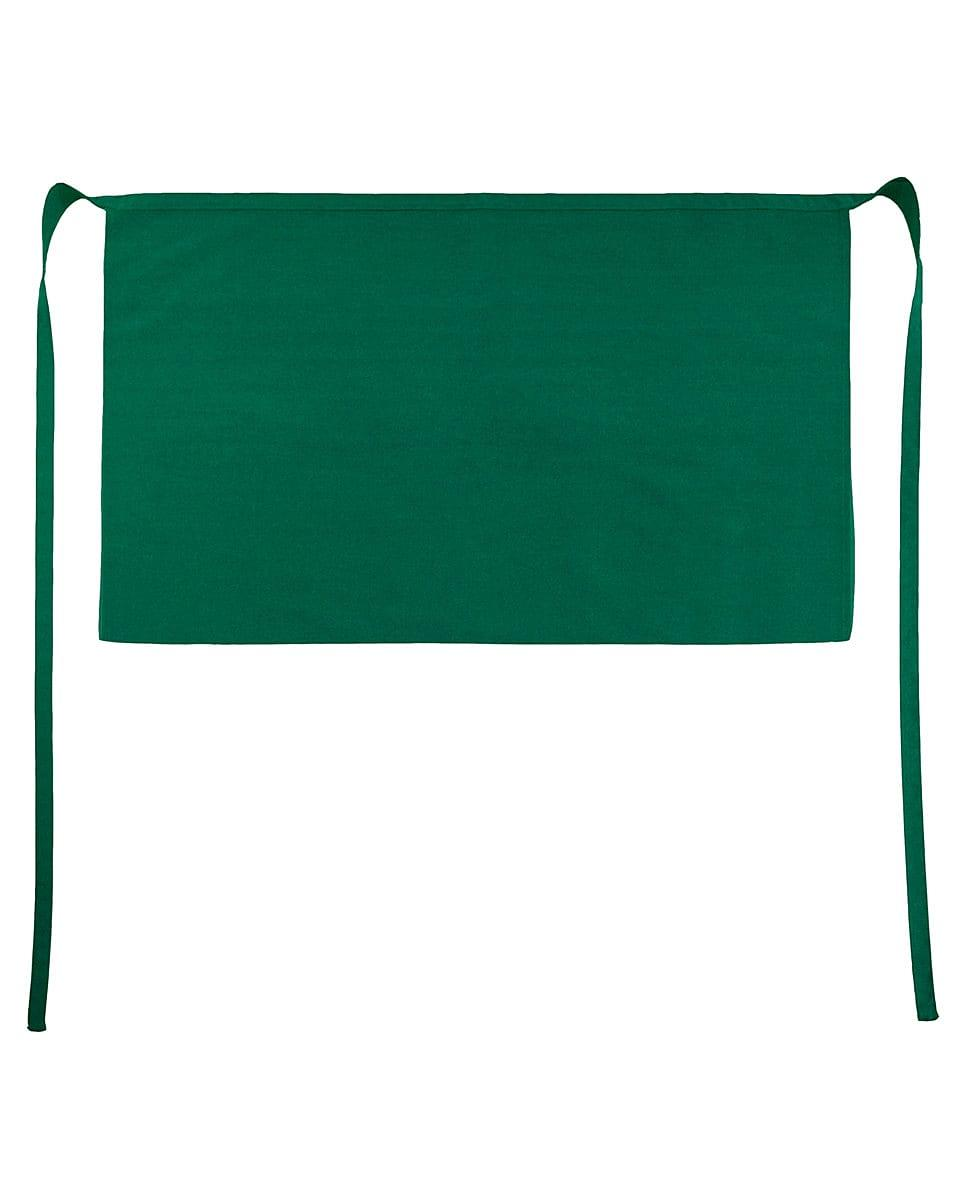 Jassz Bistro Brussels Short Apron in Bottle Green (Product Code: JG14)