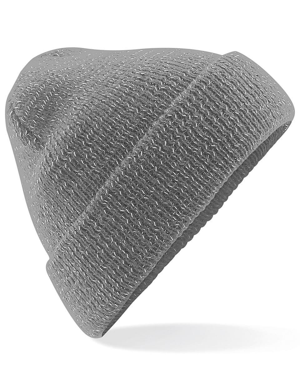 Beechfield Reflective Beanie Hat in Graphite (Product Code: B407)
