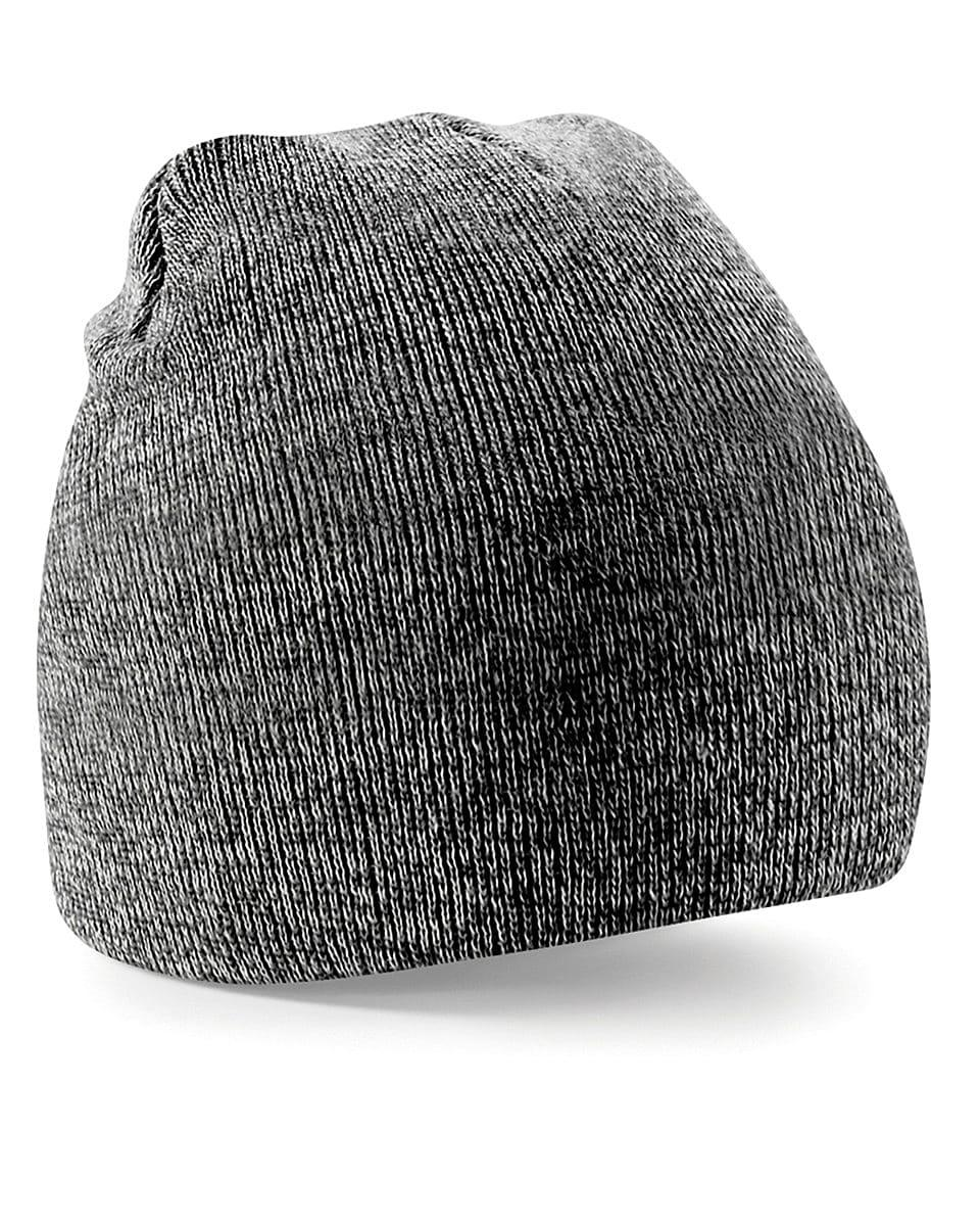 Beechfield Original Pull-On Beanie Hat in Antique Grey (Product Code: B44)