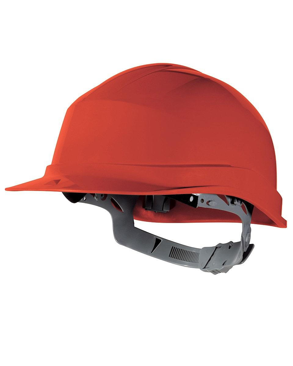 Delta Plus Zircon Hard Hat in Red (Product Code: ZIRCON)
