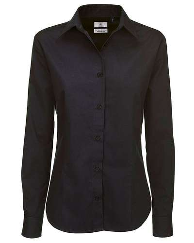 B&C Womens Sharp Twill Long-Sleeve Shirt