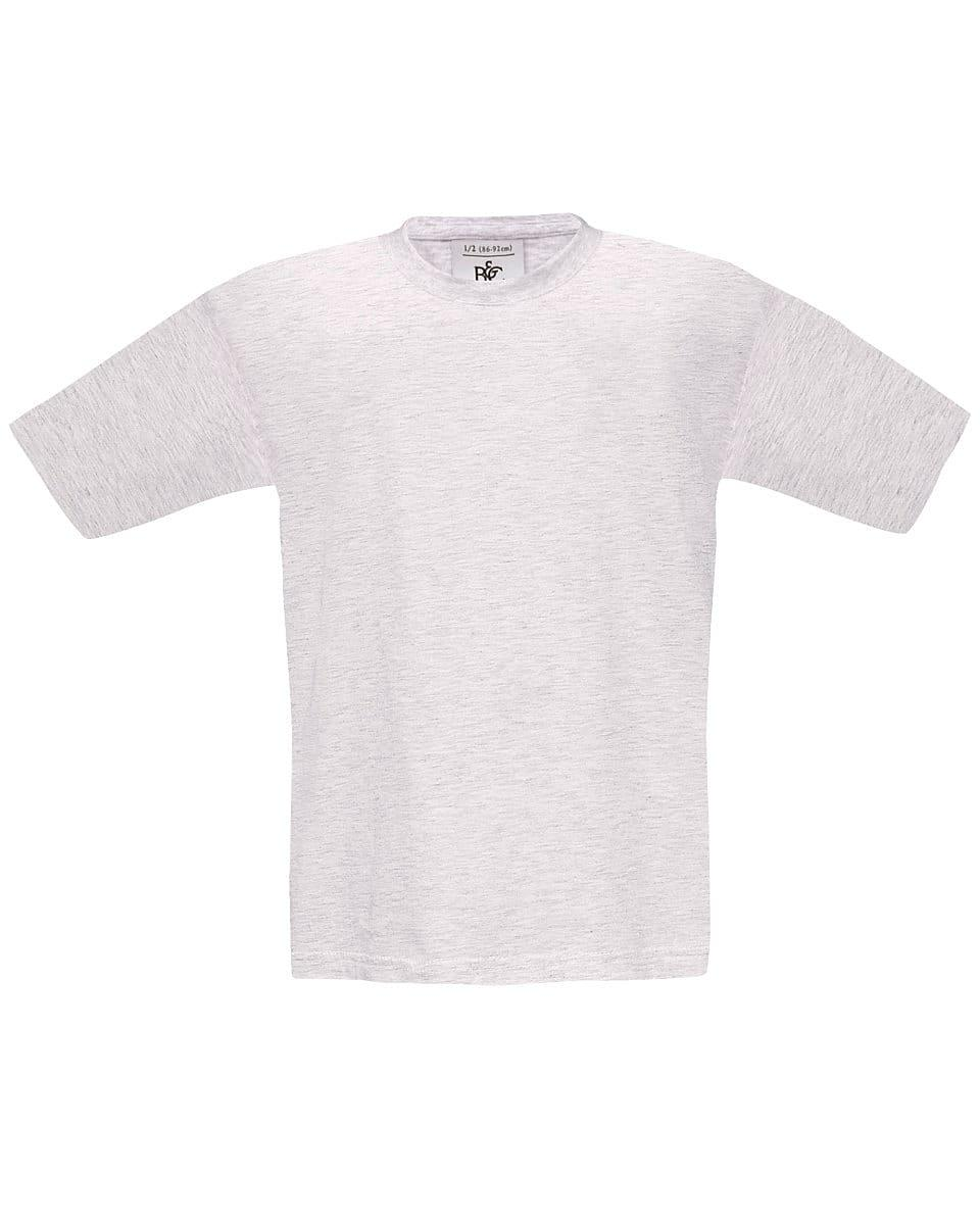 B&C Childrens Exact 190 T-Shirt in Ash Grey (Product Code: TK301)