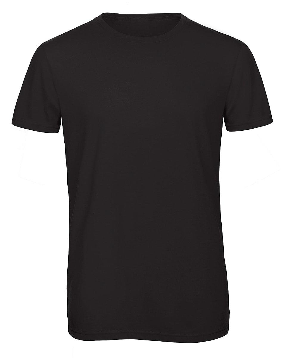 B&C Mens Inspire Triblend T-Shirt in Black (Product Code: TM055)