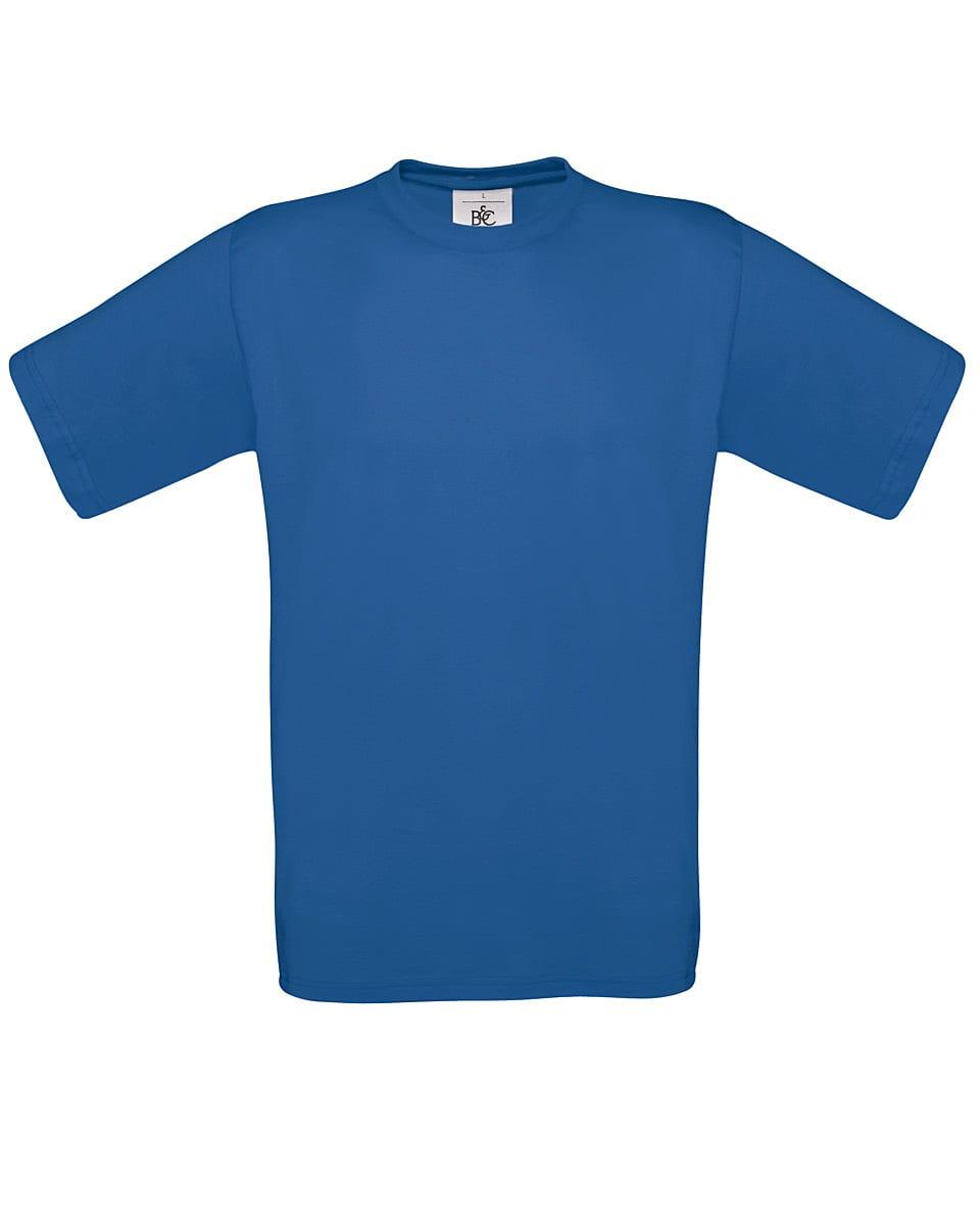 B&C Mens Exact 150 T-Shirt in Royal Blue (Product Code: TU002)