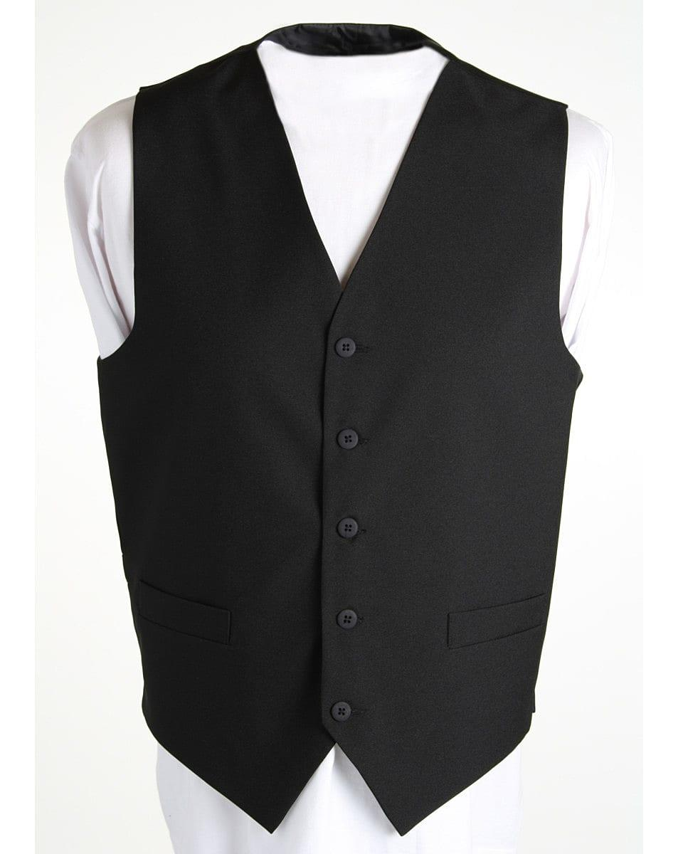 Dennys Unisex Waistcoat in Black (Product Code: DS25)