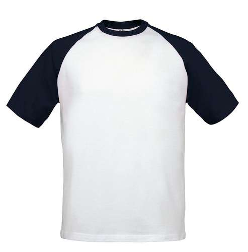 B&C Mens Short-Sleeve Baseball T-Shirt