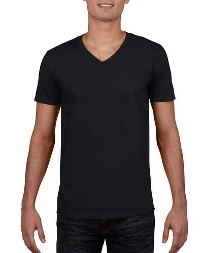 Gildan Mens Softstyle V-Neck T-Shirt