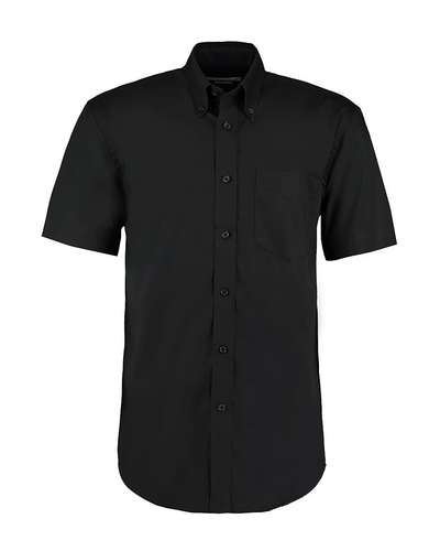 Kustom Kit Mens Short-Sleeve Corporate Oxford Shirt