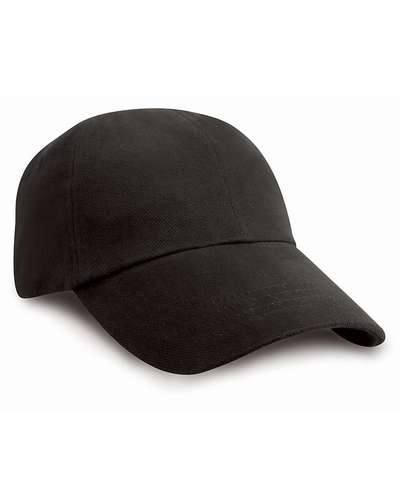 Result Headwear Low Profile Heavy Brushed Cotton Cap