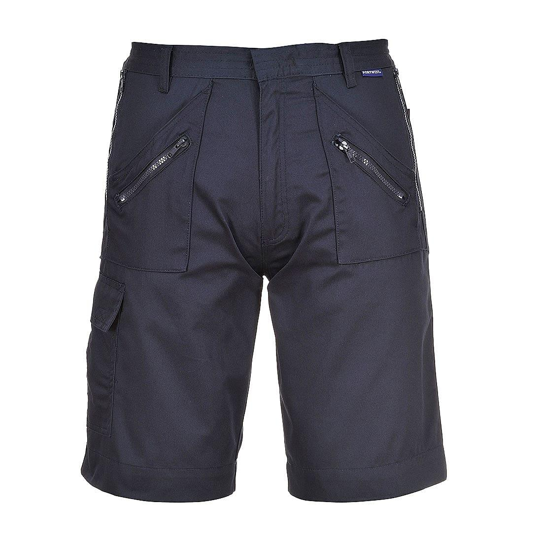 Portwest Action Shorts in Navy (Product Code: S889)