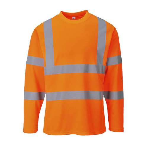 Portwest S278 Hi-Viz Long-Sleeved T-Shirt