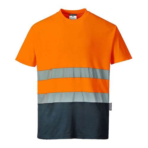 Portwest Two Tone Cotton Comfort T-Shirt