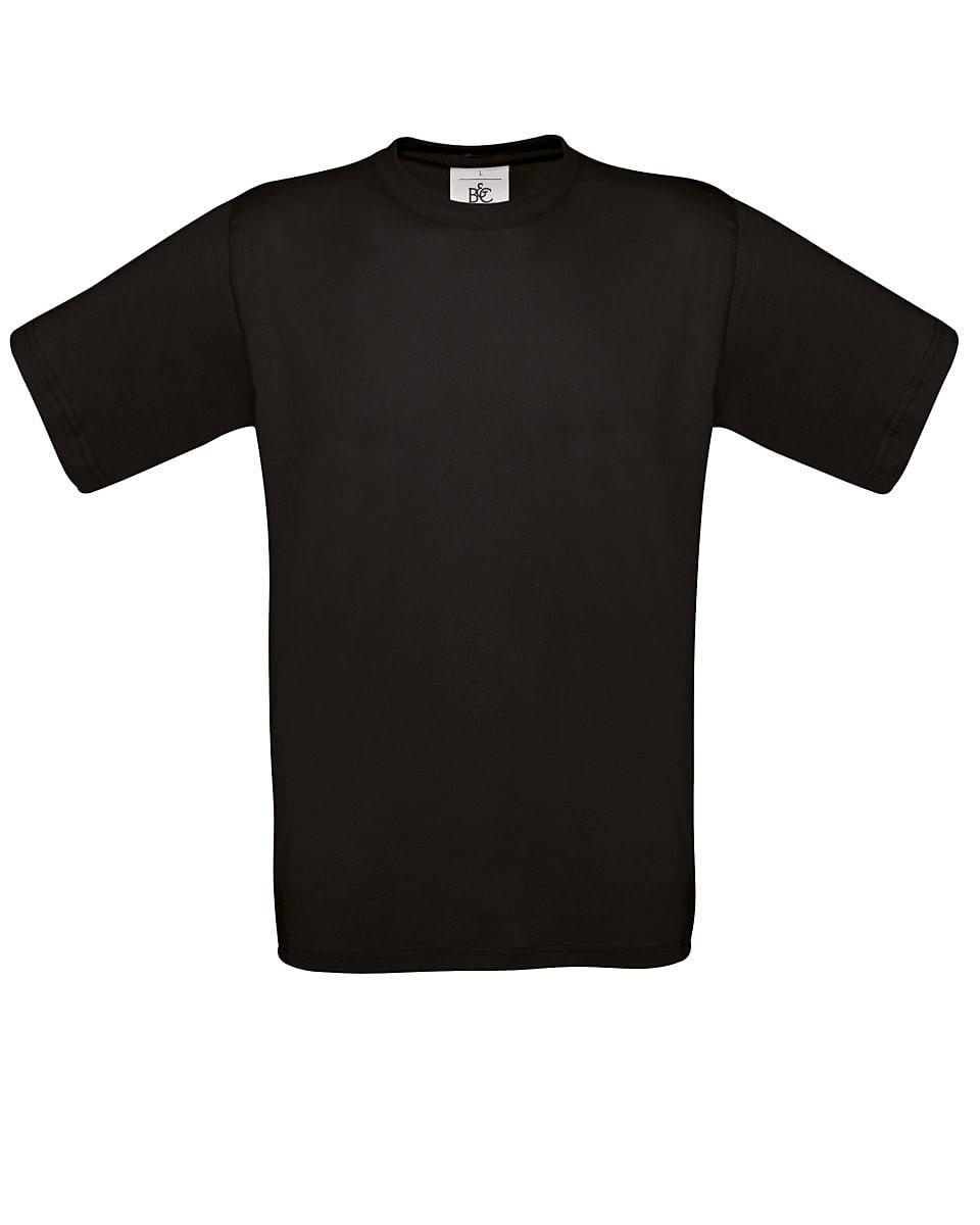 B&C Mens Exact 150 T-Shirt in Black (Product Code: TU002)