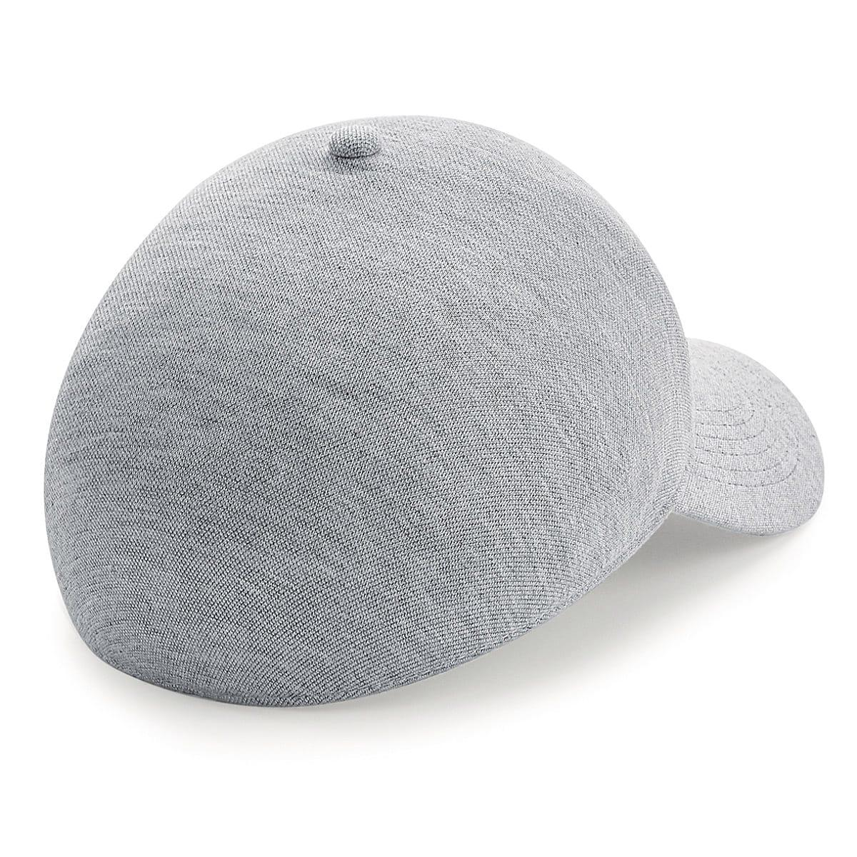 Beechfield Seamless Athleisure Cap in Heather Grey (Product Code: B556)