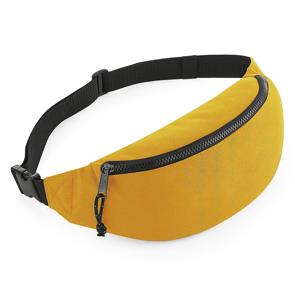Bagbase Recycled Waistpack in Mustard (Product Code: BG282)