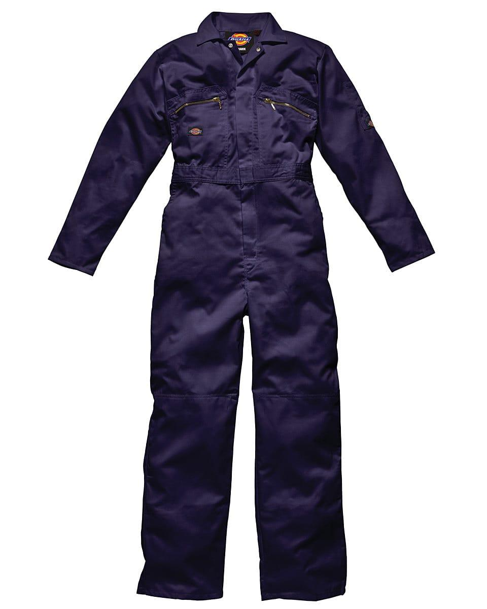 Dickies Redhawk Zip Front Coverall Regular in Navy Blue (Product Code: WD4839R)