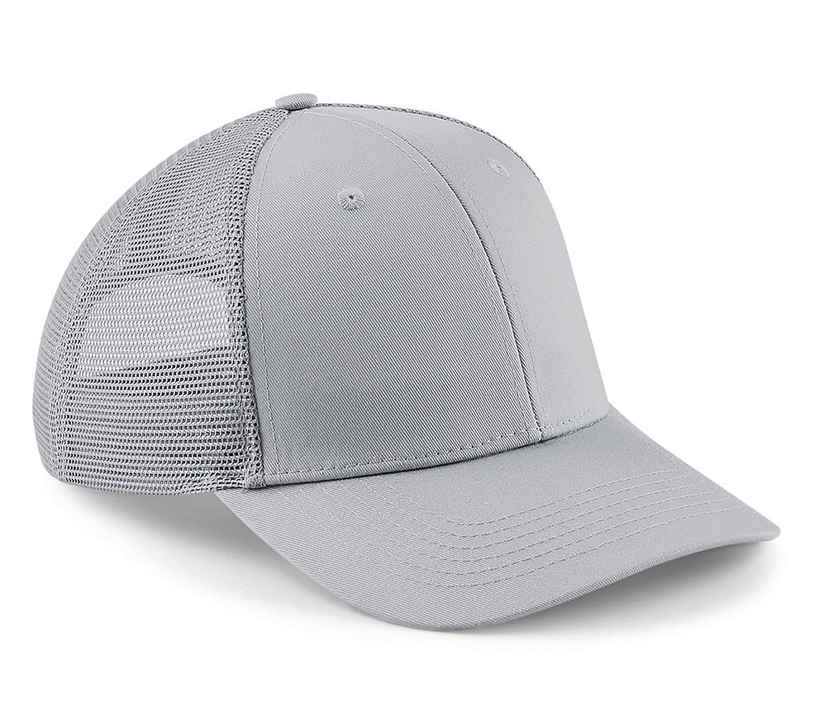 Beechfield Urbanwear Trucker Cap in Light Grey (Product Code: B646)