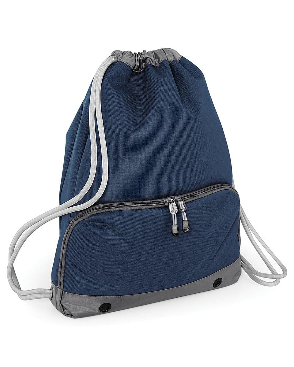 Bagbase Athleisure Gymsac in French Navy (Product Code: BG542)