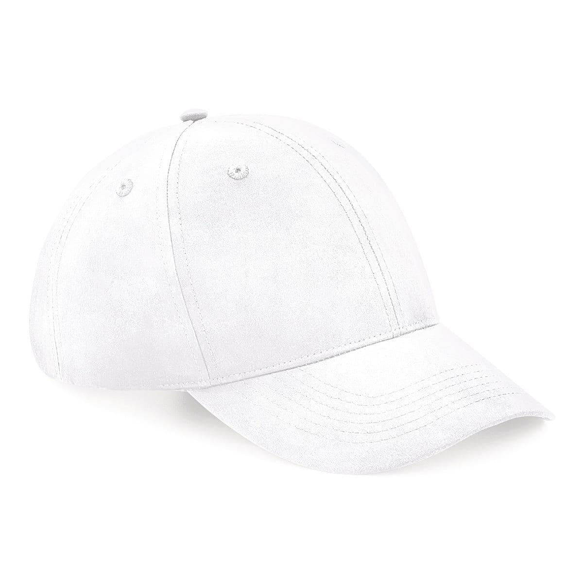Beechfield Recycled Pro-Style Cap in White (Product Code: B70)