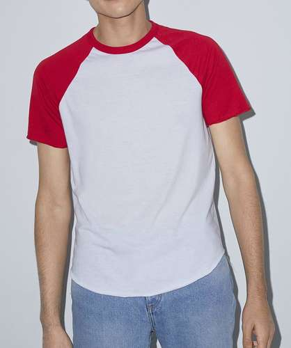 American Apparel Unisex Short-Sleeve Raglan T-Shirt