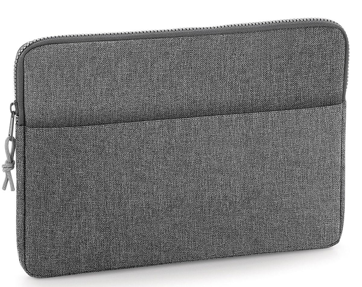 "Bagbase Essential 13"" Laptop Case in Grey Marl (Product Code: BG67)"