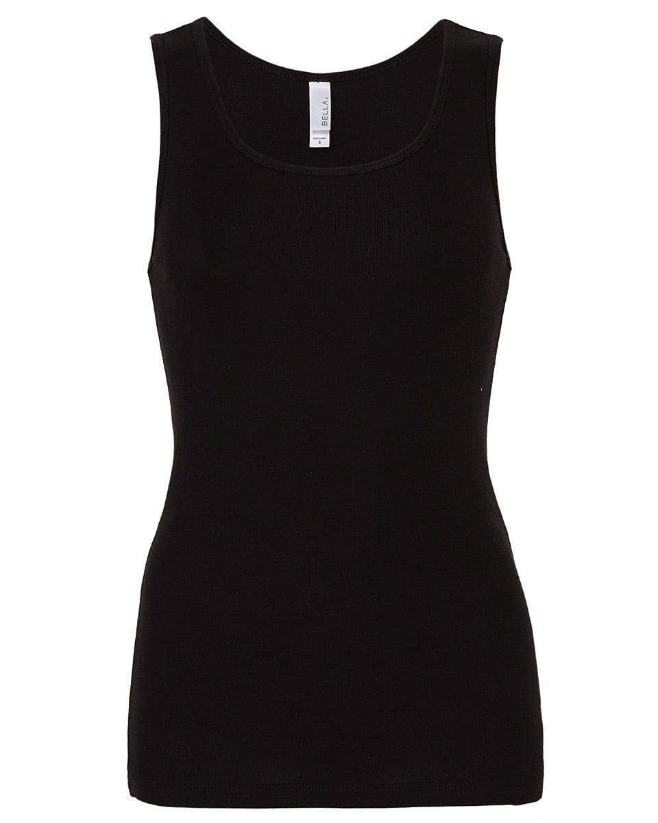 Bella Womens Tank Top in Black (Product Code: BE1080)