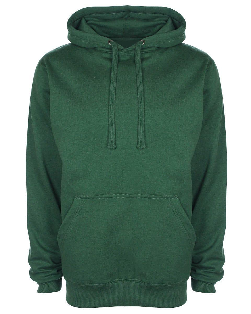FDM Unisex Tagless Hoodie in Forest Green (Product Code: TH001)