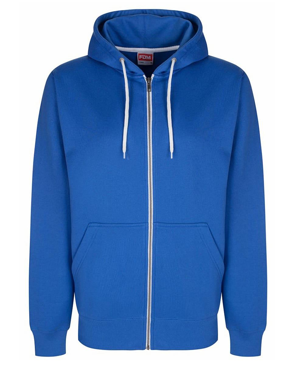 FDM Team Zip Hoodie in Royal Blue (Product Code: TZ001)
