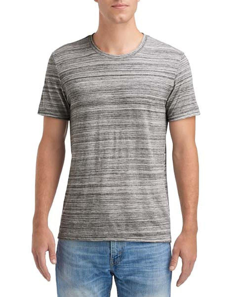 Anvil Adult Streak T-Shirt in ID Silver (Product Code: 6750ID)