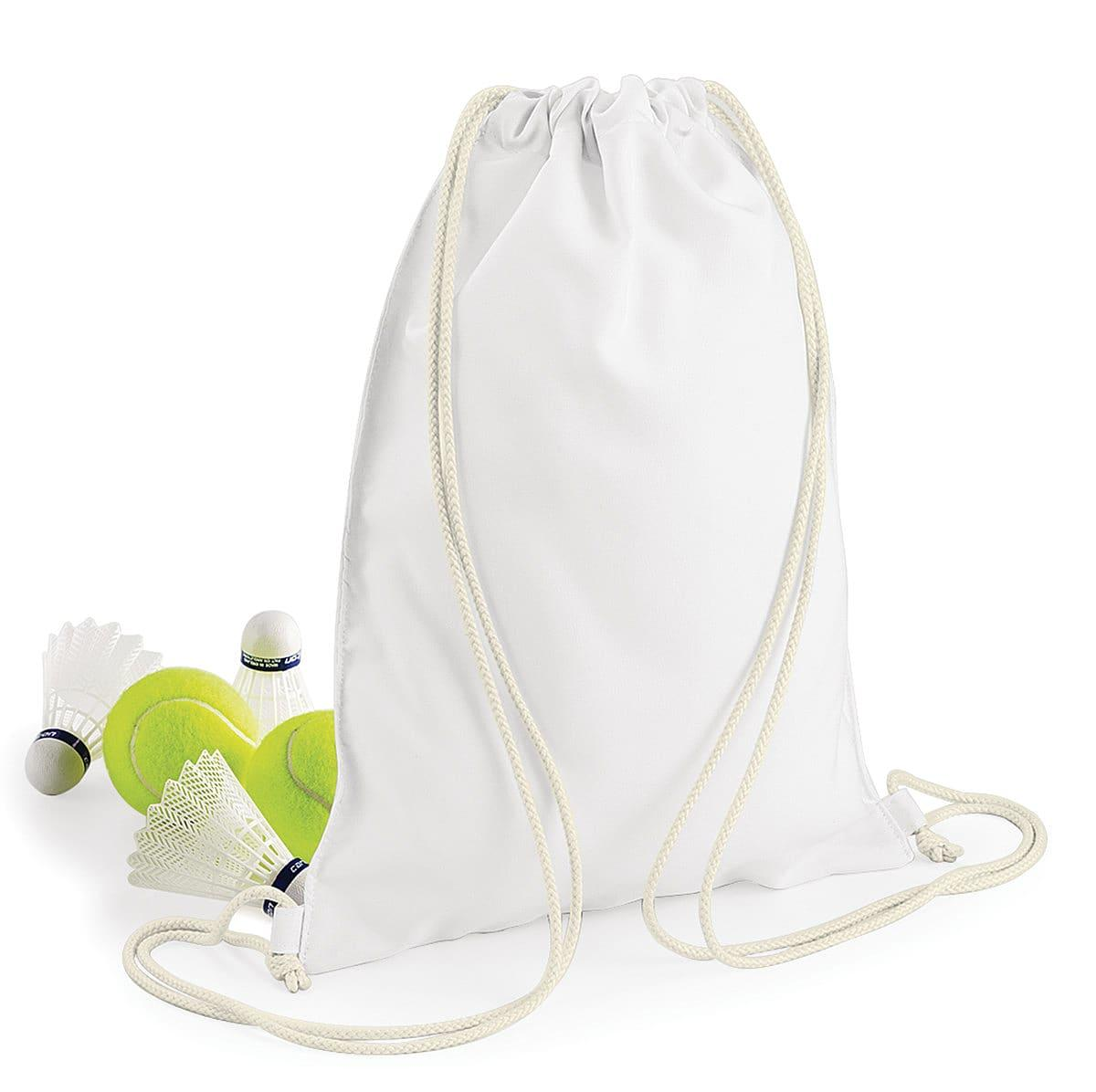 Bagbase Sublimation Gymsac in White (Product Code: BG910)
