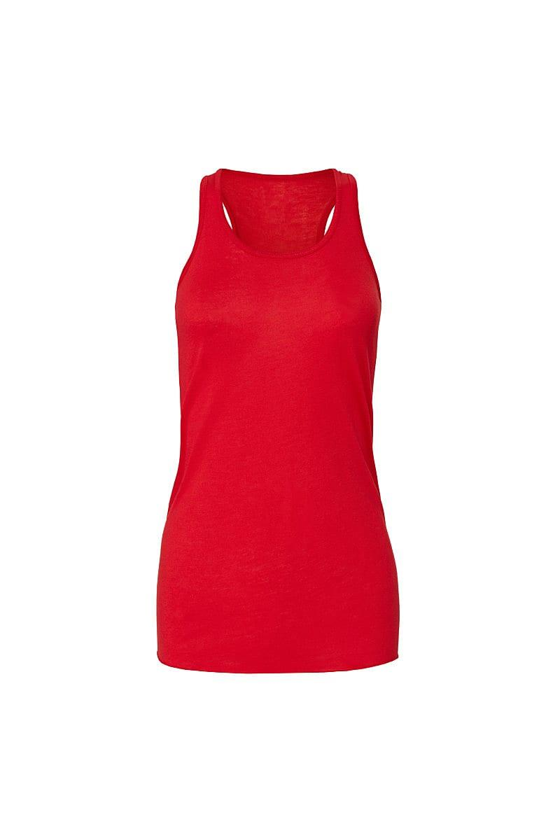 Bella Flowy Racerback Tank Top in Red (Product Code: BE8800)