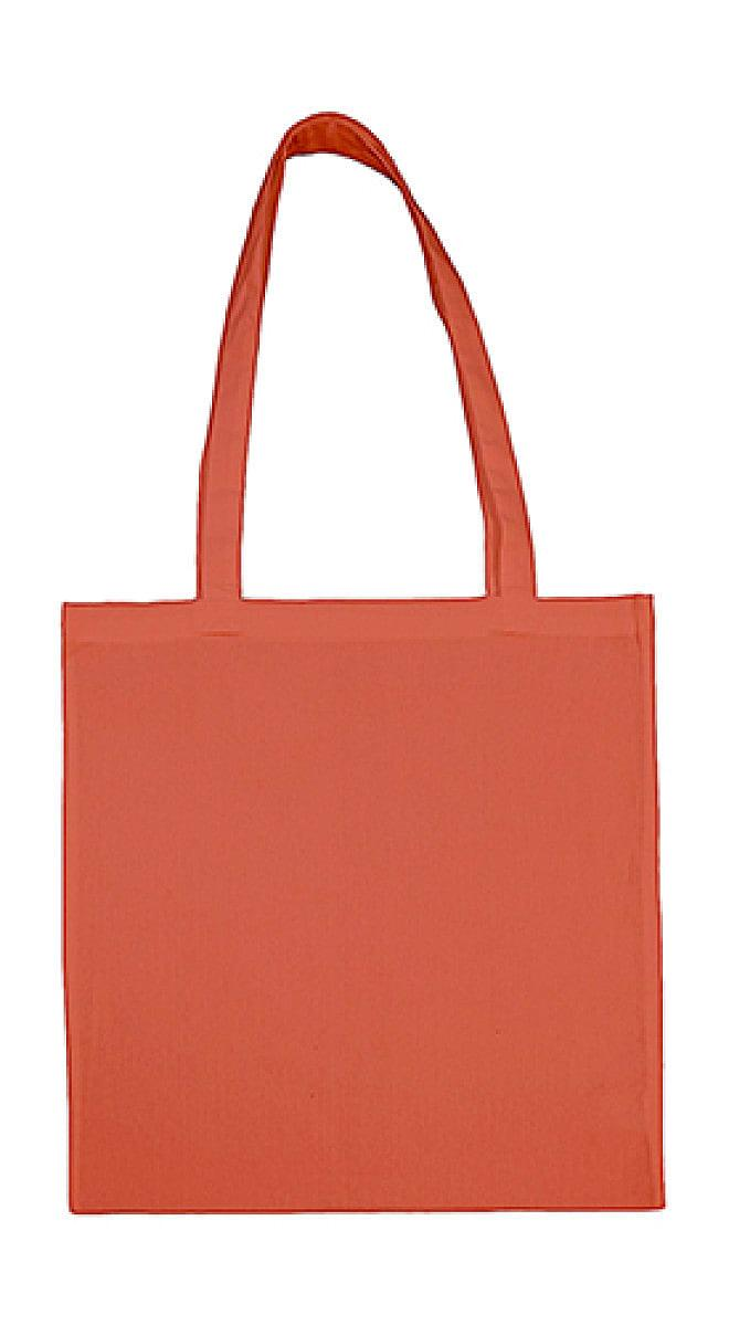 Jassz Bags Beech Cotton Long-Handle Bag in Apricot Brandy (Product Code: 3842LH)