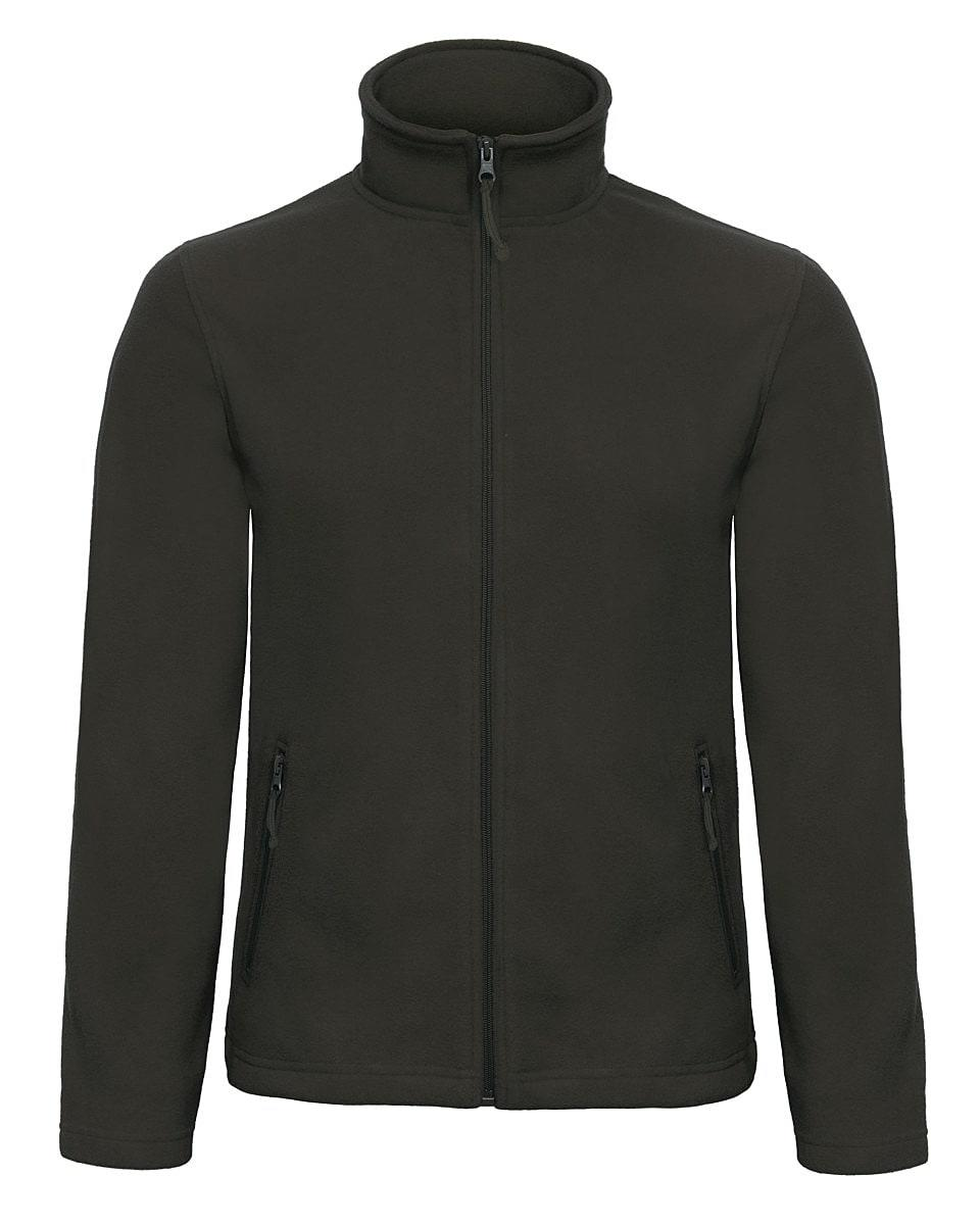 B&C Mens ID.501 Fleece Jacket in Black (Product Code: FUI50)