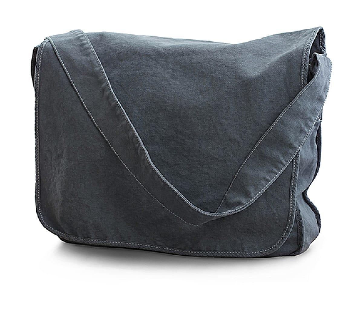 Jassz Bags Canvas Messenger Bag in Denim (Product Code: CA37309MB)